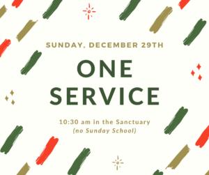 One Service @ Sanctuary