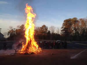 Epiphany & Burning of the Greens @ Prince of Peace Parking Lot