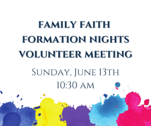 FFFN Volunteer Meeting